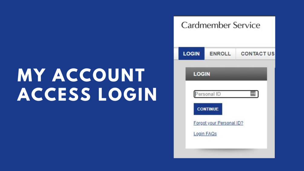 My Account Access CardMember Service Features